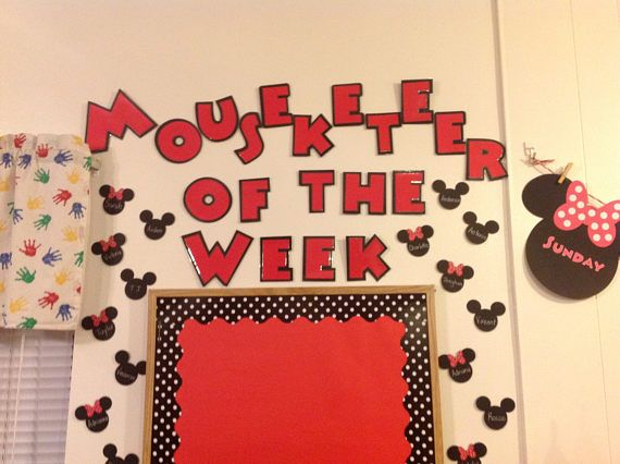 Mouseketeer Student of the Week  Mickey Mouse Classroom