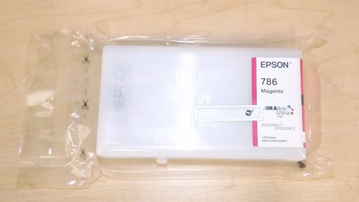 Genuine Epson 786 Ink Cartridges  Magenta  T786320  New