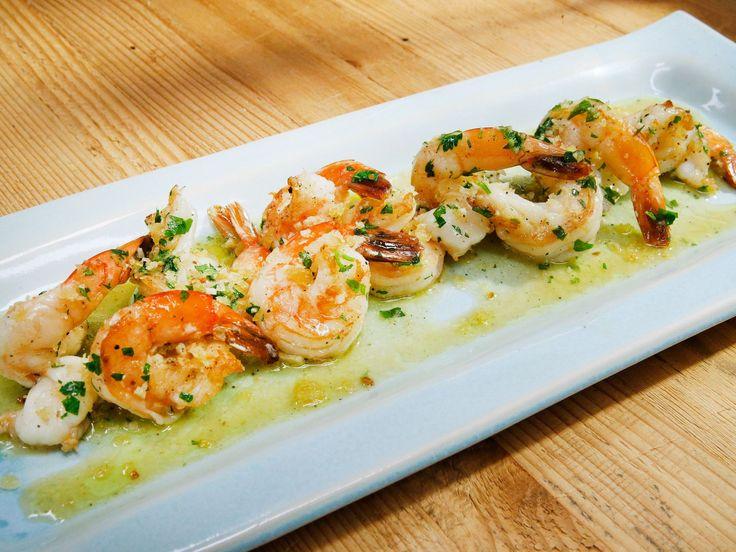 Scampi recipe from Geoffrey Zakarian via Food Network