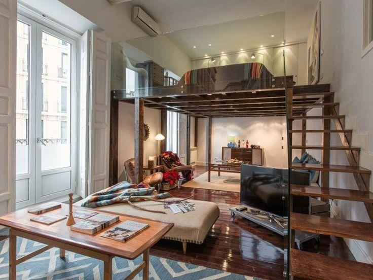 25+ beste ideeën over Mezzanine bed op Pinterest - Traplade ...