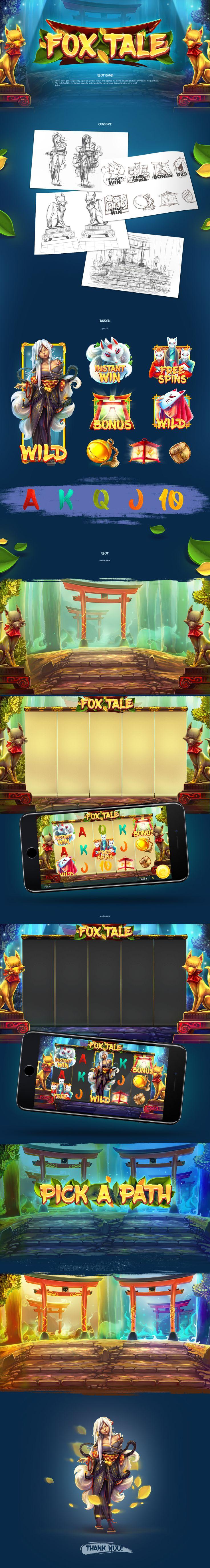 Fox Tale - Slot Game on Behance