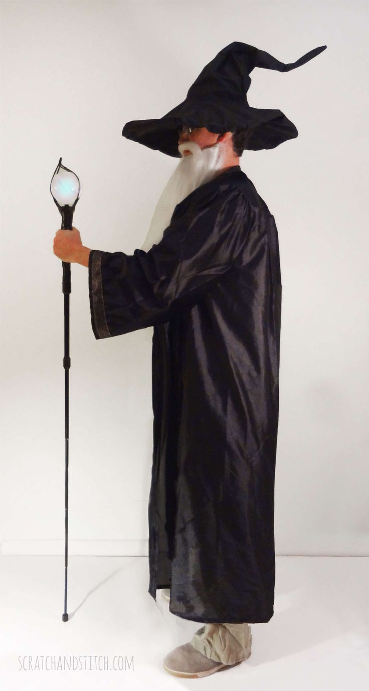 DIY Wizard Costume Tutorial by scratchandstitch.com