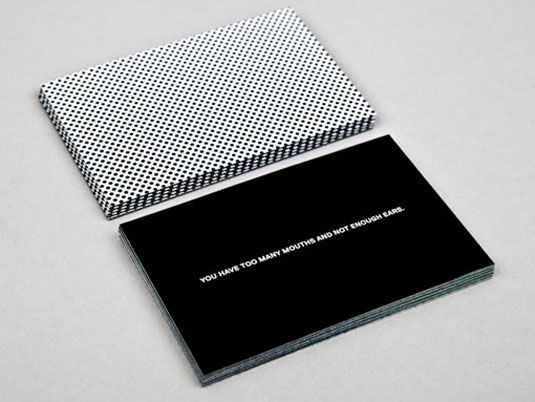 The folks at MOO have created new business cards for great causes including designs from Sagmeister and Walsh: http://www.creativebloq.com/graphic-design/luxe-project-produces-great-designs-great-causes-3132121  #businesscards #graphicdesign #charity