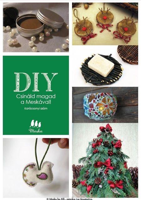 #DIY-Csináld magad a Meskával-Karácsonyi szám
