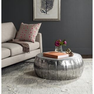 Safavieh Dara Silver Coffee Table