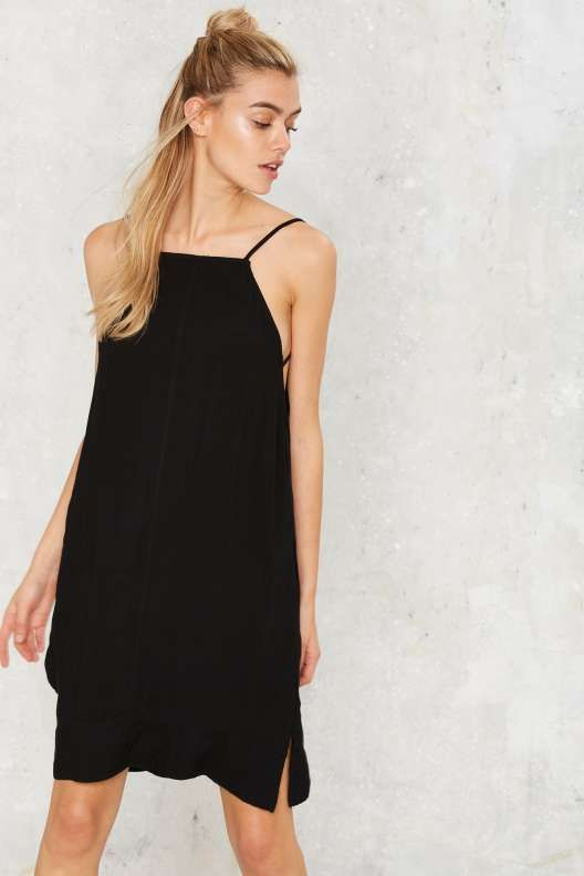 Keep 'Em Crossed Shift Dress
