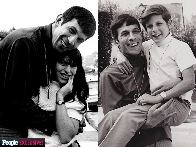 """Leonard Nimoy's Grandchildren Share Touching Family Photos   A DEVOTED DAD   """"He was a very passionate, emotional man. You didn't necessarily see that unless you got to know him well,"""" Rabbi John L. Rosove tells PEOPLE of Nimoy (with Julie and Adam, his children with first wife Sandra Zober, in 1967). """"And as a father, he was spectacular."""""""