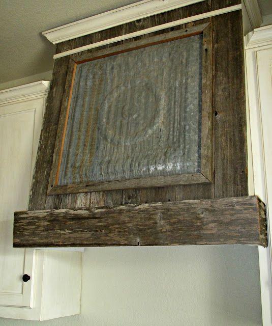 Old Ceiling Tile And Barn Wood Ventahood Barndominiums