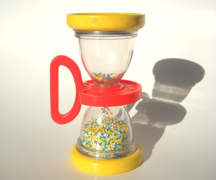 Fisher Price Baby Toy Shake n Roll Rattle 451: Vintage 70s