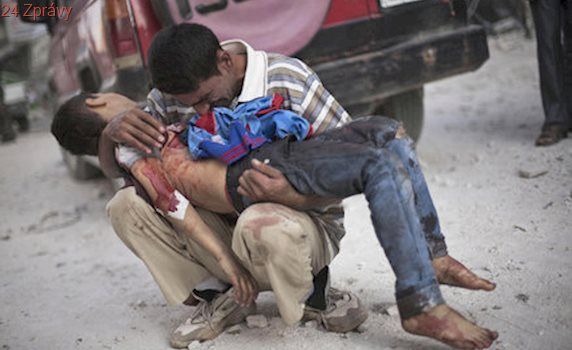 Krutá zpráva ze Sýrie: Válka tu zabila 652 dětí za jediný rok