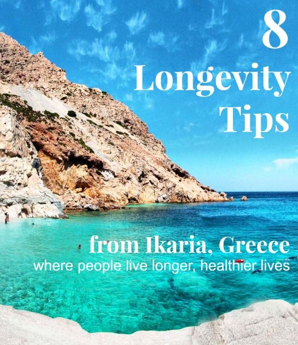 8 longevity tips from Ikaria, Greece