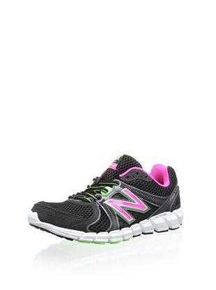 48% OFF New Balance Women's W750 Neutral Running Shoe (Black/Green)
