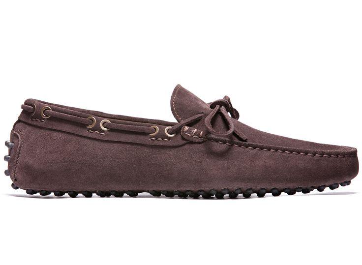 Brown Driving Moccasins in Suede Leather - El Còmod - Velasca - Men's Fashion