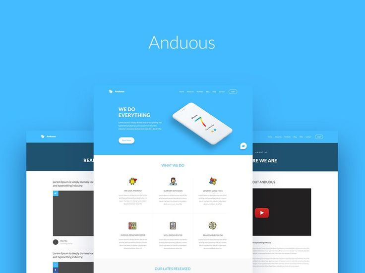 Anduous – Free Agency Web Templates - http://freebiesjedi.com/2017/07/anduous-free-agency-web-templates/