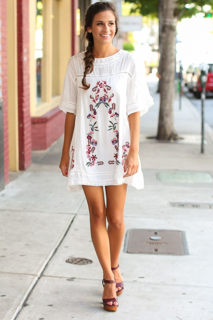 Best 25 white embroidered dress ideas on pinterest embroidered best 25 white embroidered dress ideas on pinterest embroidered dresses mexican embroidered dress and embroidered clothes ccuart Images
