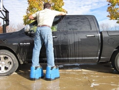 A boot solution for short people. | 26 Products You Can't Believe Don't Exist Yet