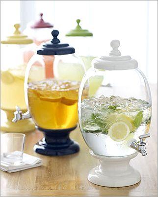 Ceramic & Glass Beverage Server