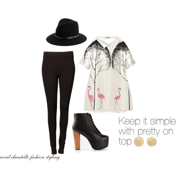 """""""Keep It Simple"""" by avrilchantelle on Polyvore"""