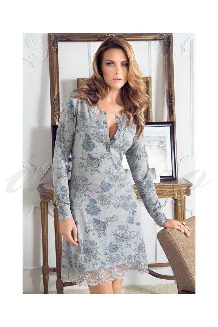 Женская ночная рубашка - купить в Киеве, цены на ночные сорочки | интернет магазин белья Intimo в Украине
