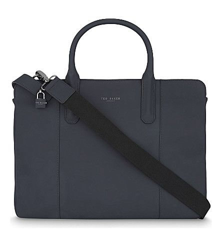 TED BAKER - Icarus leather document bag | Selfridges.com