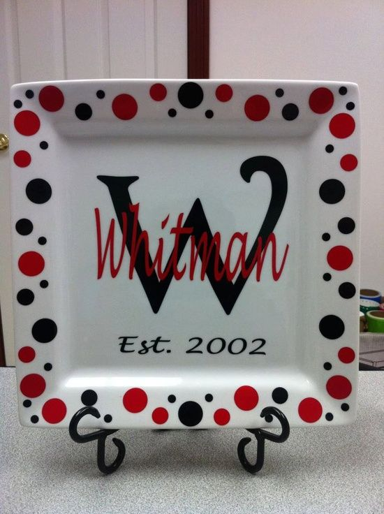 Monogrammed Cricut Craft Ideas Cricut Craft Ideas Personalized