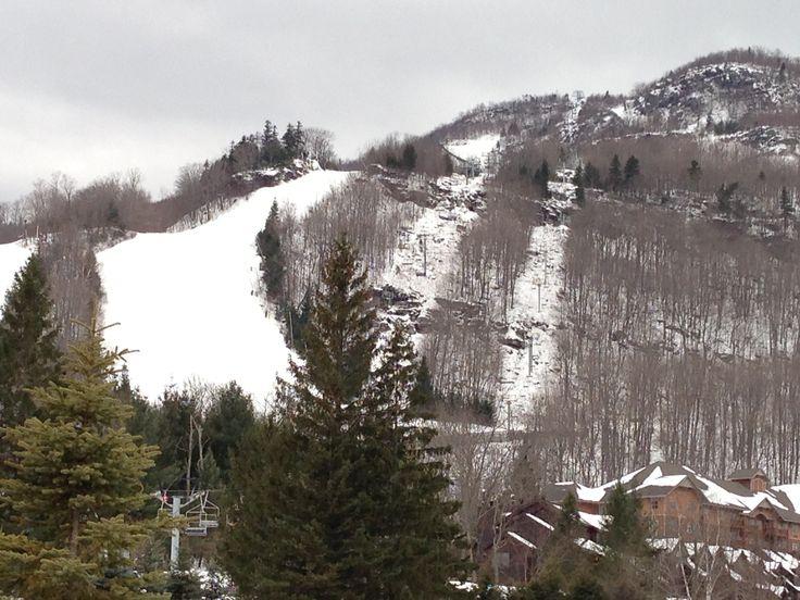 Nieve en las montañas...
