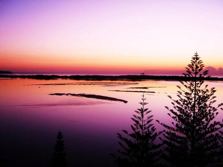 Pumicestone Passage - sunrise - Sunshine Coast Australia photo by Jess Gilbert