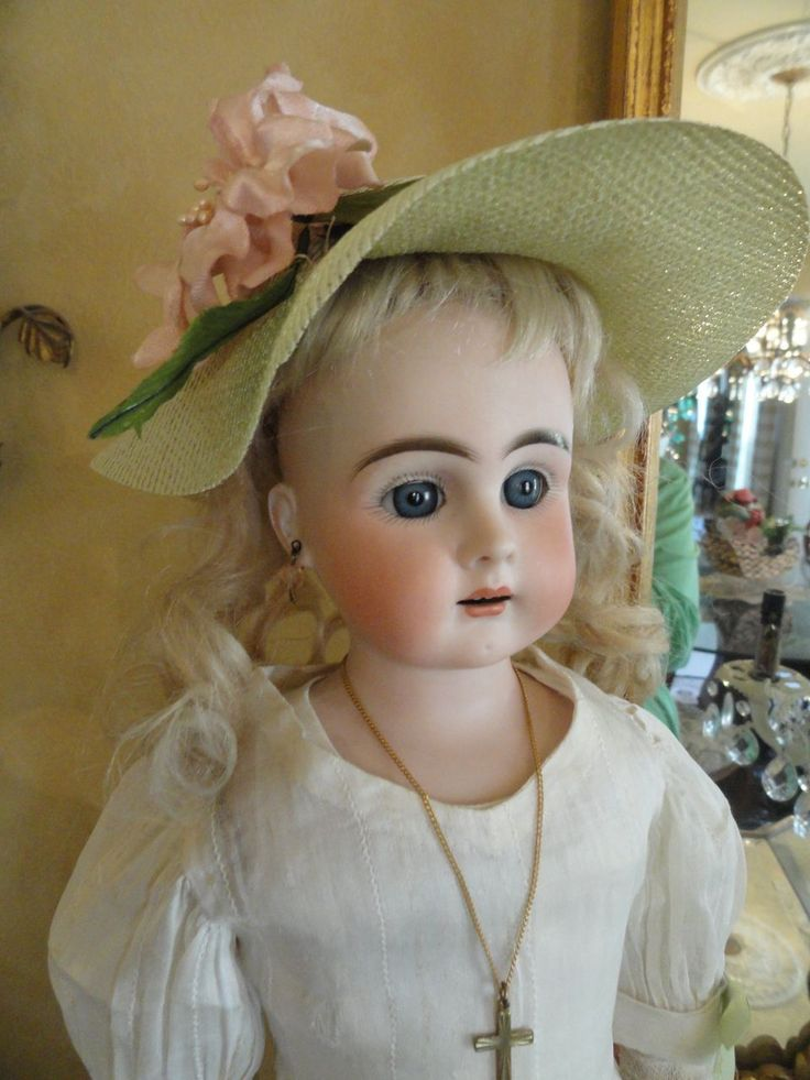 "Unusually Beautiful 20"" Bahr & Proschild Fashion Doll from auntpatsyscottage on Ruby Lane"