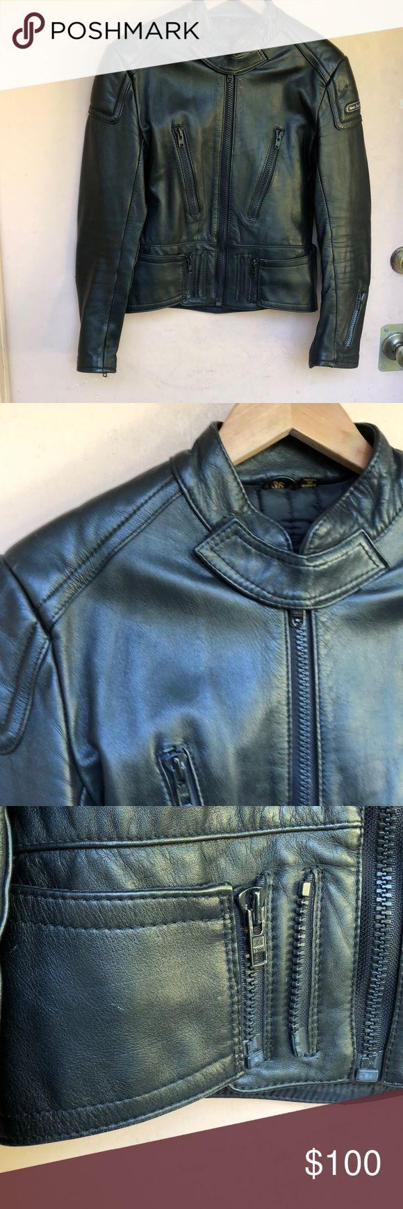 Hein Gericke Moto Leather Jacket This is a true biker