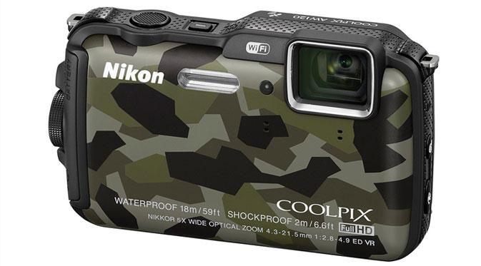 Kamera kompak ini dirancang untuk semua medan dan bahkan masih dapat menyala di cuaca ekstrim hingga -10 derajat celcius.