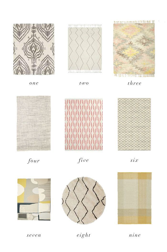 Dress up your wooden floor with a beautiful rug.