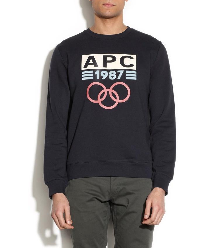 'APC - 1987' sweatshirt