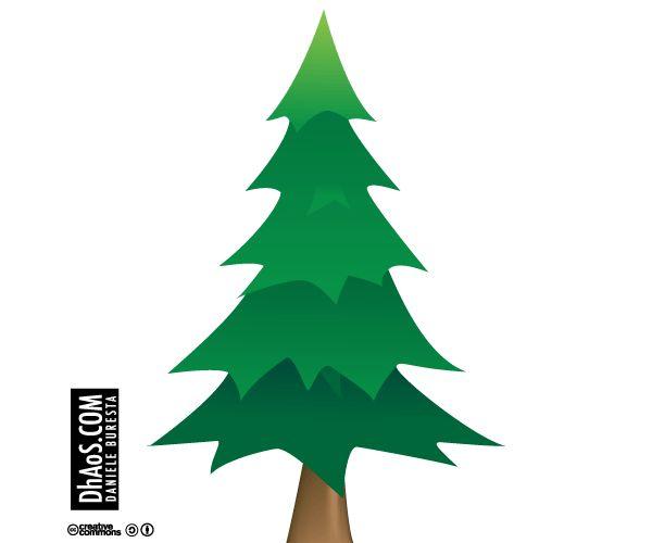 Vector Illustration Tree: Christmas Tree Vector Image Free Download