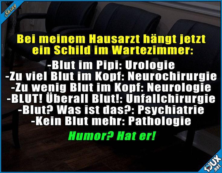 Ärzte haben tollen Humor :) #Arzt #Arztwitze #lustig #Humor #schwarzerHumor  – Zitate