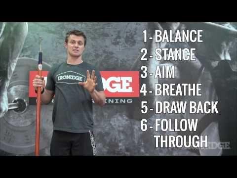 Spartan Race Training #9 - The Spear Throw part 2 - YouTube