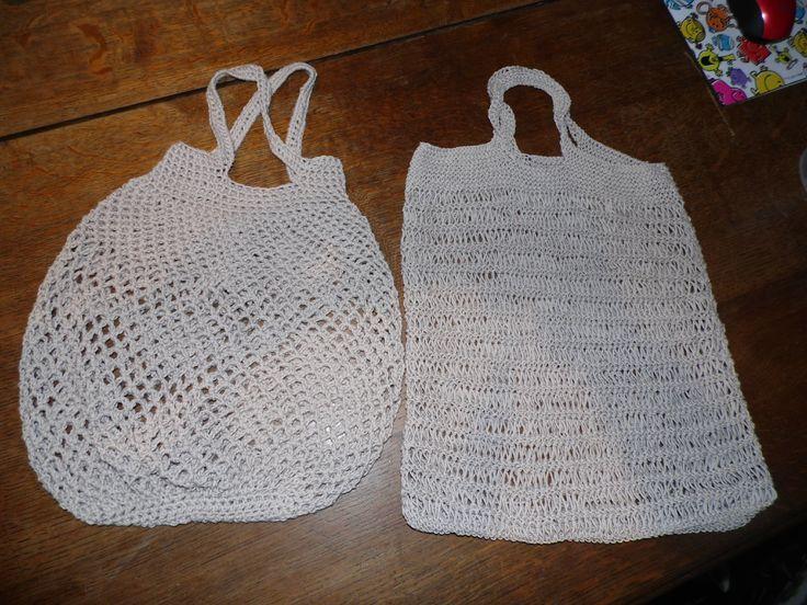 les 94 meilleures images propos de crochet bag sac filet sur pinterest motif gratuit sacs d. Black Bedroom Furniture Sets. Home Design Ideas