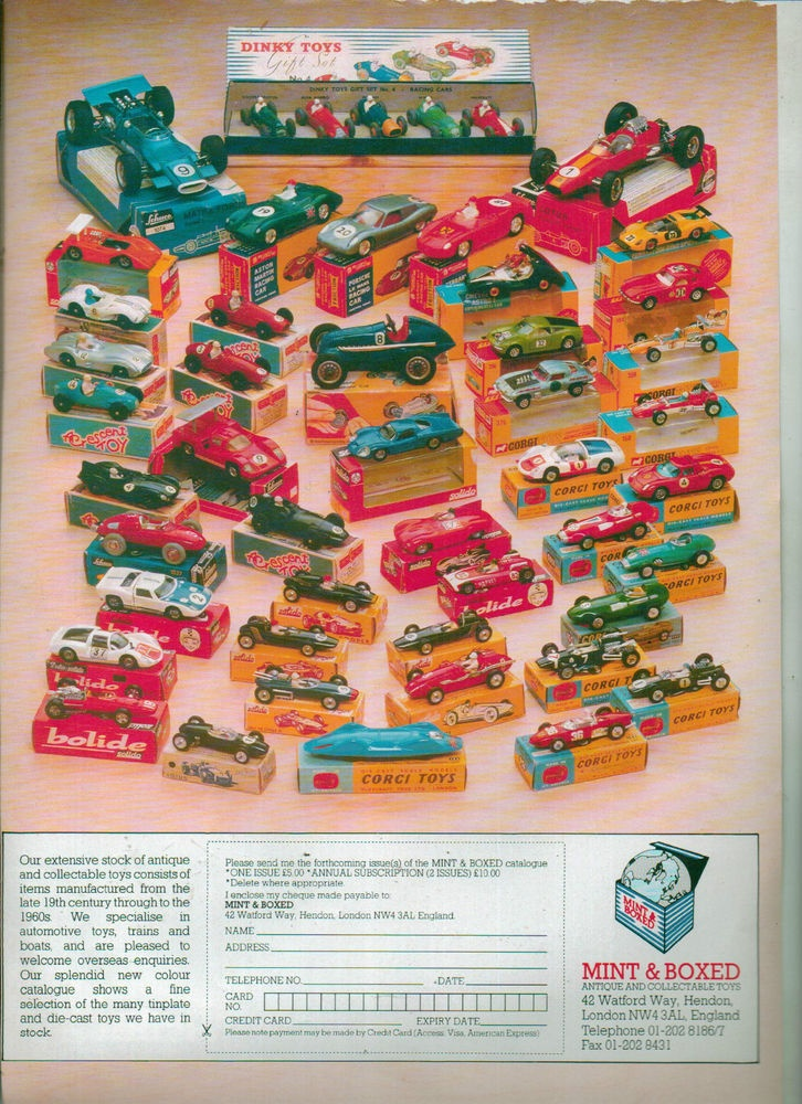 DINKY TOY ADVERT MAGAZINE CLIPPING NOT A COPY 1960S | eBay