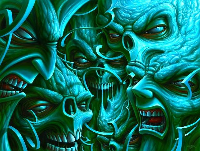 1238 best images about more skulls etc on pinterest for Tortured souls tattoo