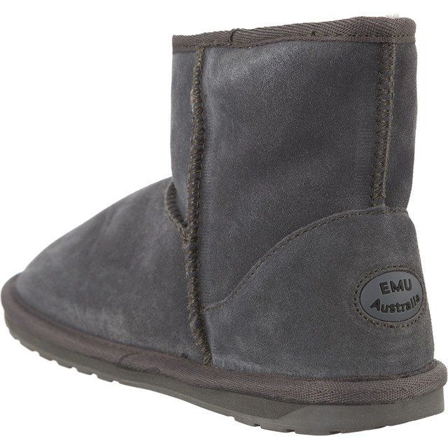 Sniegowce Dla Dzieci Emuaustralia Emu Australia Szare Wallaby Mini Charcoal Boots Bearpaw Boots Ugg Boots