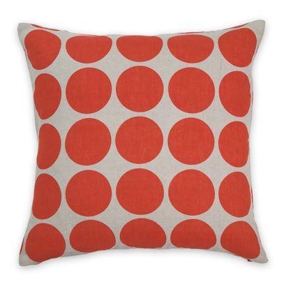 50x50cm Spot cushion Tomato