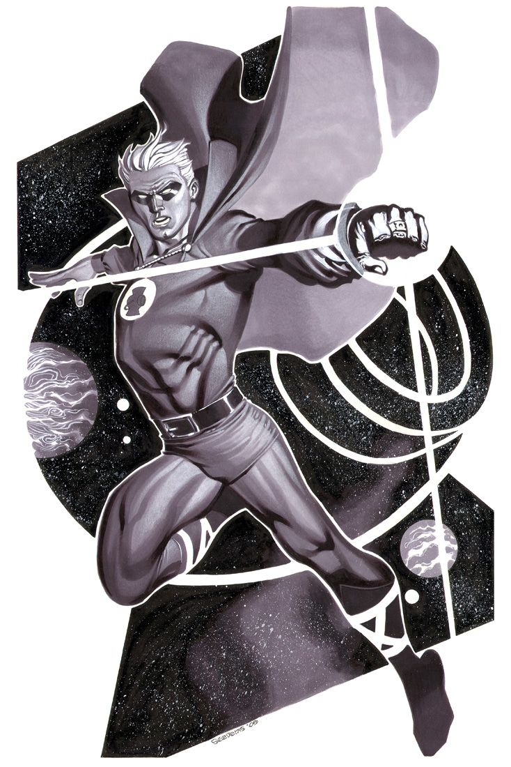 Wicked Green Lantern Illustrations and More