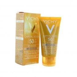 VICHY CAPITAL SOLEIL SPF50 HAUTE PROTECTION BB TEINTE HALE NATUREL 50ML