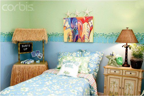 Decorating Theme Bedrooms Tropical Beach Style Bedroom Decorating Ideas Beach Baby