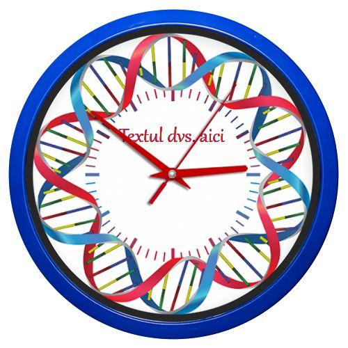 Ceas de perete al carui design este inspirat din ADN, prescurtarea de la acidul…
