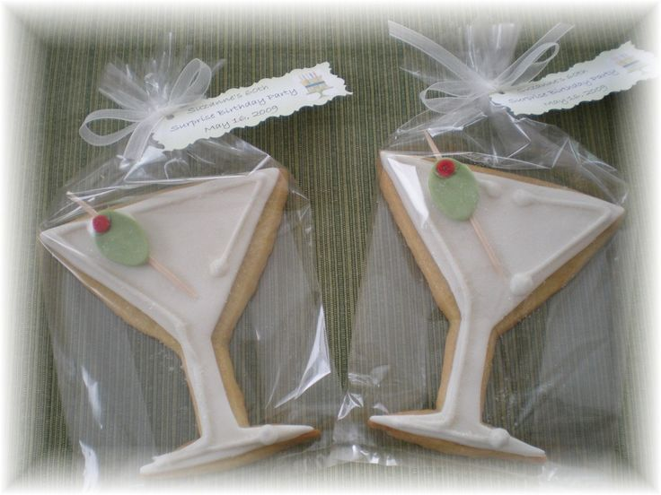 martini cookies | Martini Glass Cookies — Cookies!