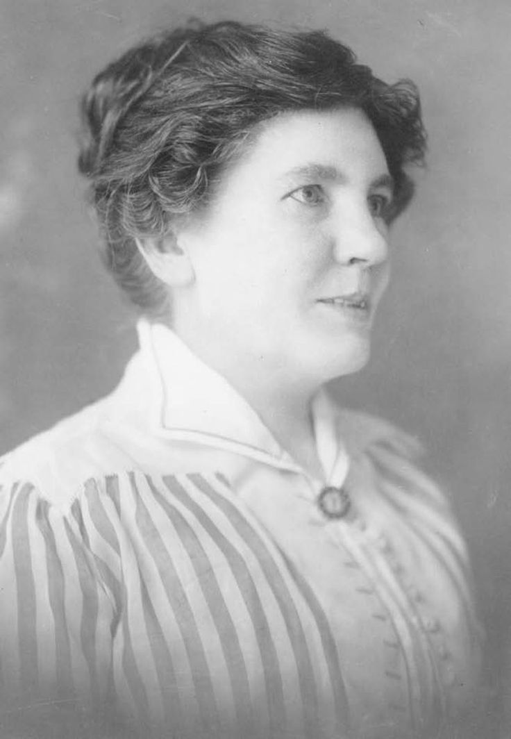 "Laura Ingalls Wilder at the time of the ""Let's visit Mrs. Wilder"" feature."