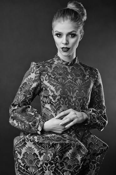 Fashion designer : Gabriela Hezner Photographer : Agnieszka Nowicka make-up : Catherine Pytlos model Karolina Ogiołda
