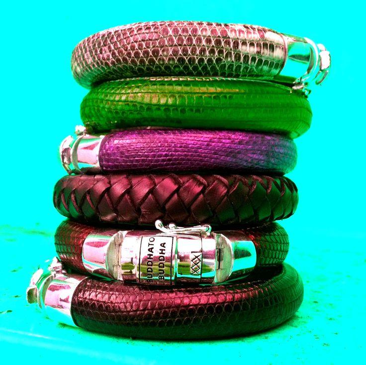 Buddha to Buddha Leather bracelets!