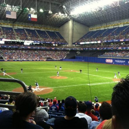 Alamodome - Sports Complexes - Attend the Spring training baseball game and watch Texas Rangers and Cleveland Indians play live at Alamodome