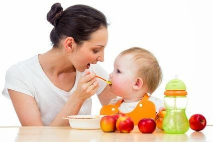 To 6 months, your baby is eating less frequently.